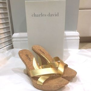 Charles David Cork Wedges